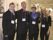 Academic Decathlon Students from LCWM