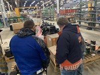 Area vocational teachers at Winco Inc.