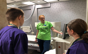 Learning about Radiology at Mankato Clinic @ Main.