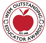 WEM Outstanding Educator Awards Logo